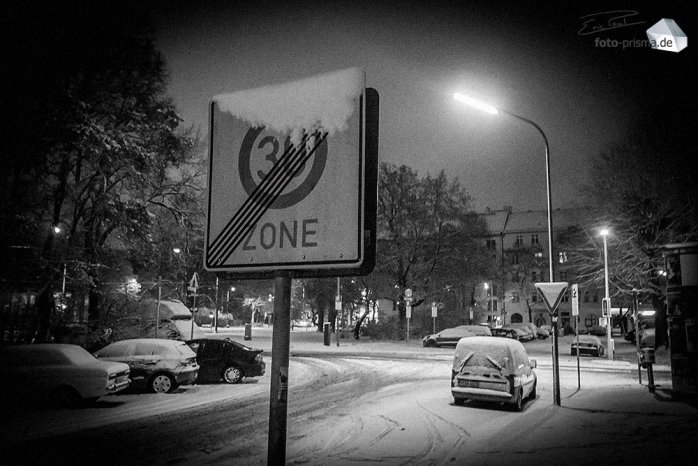 Silent Empty Winter Night - Zone 30, St.-Martins-Platz (Foto: Eric Paul)