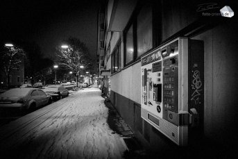 Silent Empty Winter Night - Eintrachtstraße (Foto: Eric Paul)
